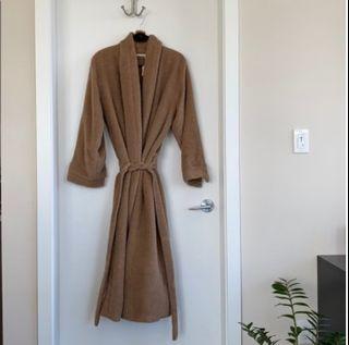 BNWT Camel Wool Wrap Coat