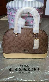 Brand New Authentic COACH Mini Sierra Satchel. Bought from New York