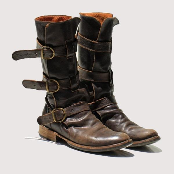 Brand New Plain Round Toe Boots That Is Perfect For This Winter Season