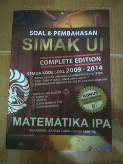 Buku simak UI Matematika IPA
