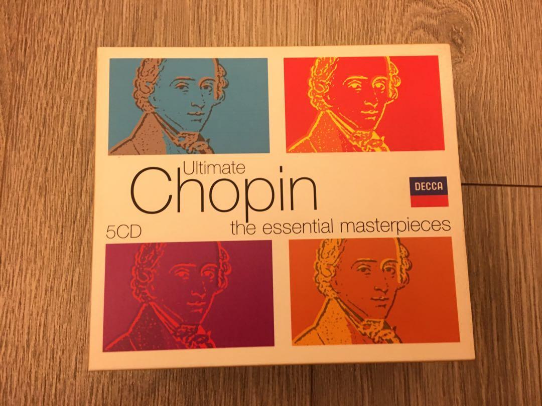 Chopin蕭邦古典音樂CD