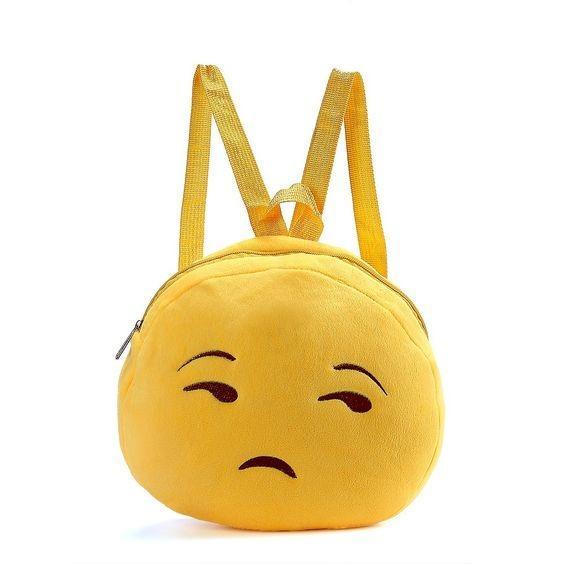 Depressed Cute Looking Emoji Emoticon Shoulder Bag/Hand Bag