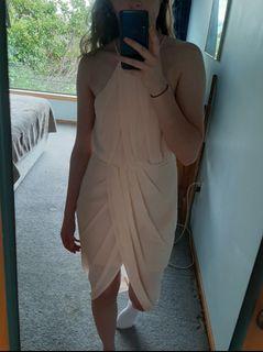 Dotti Size 12 Blush Pink Dress