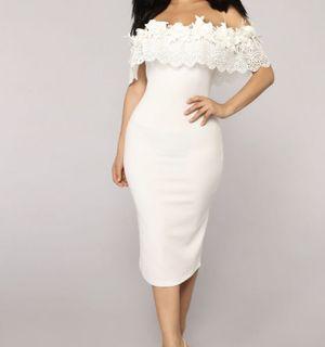 Fashion Nova - White Dress