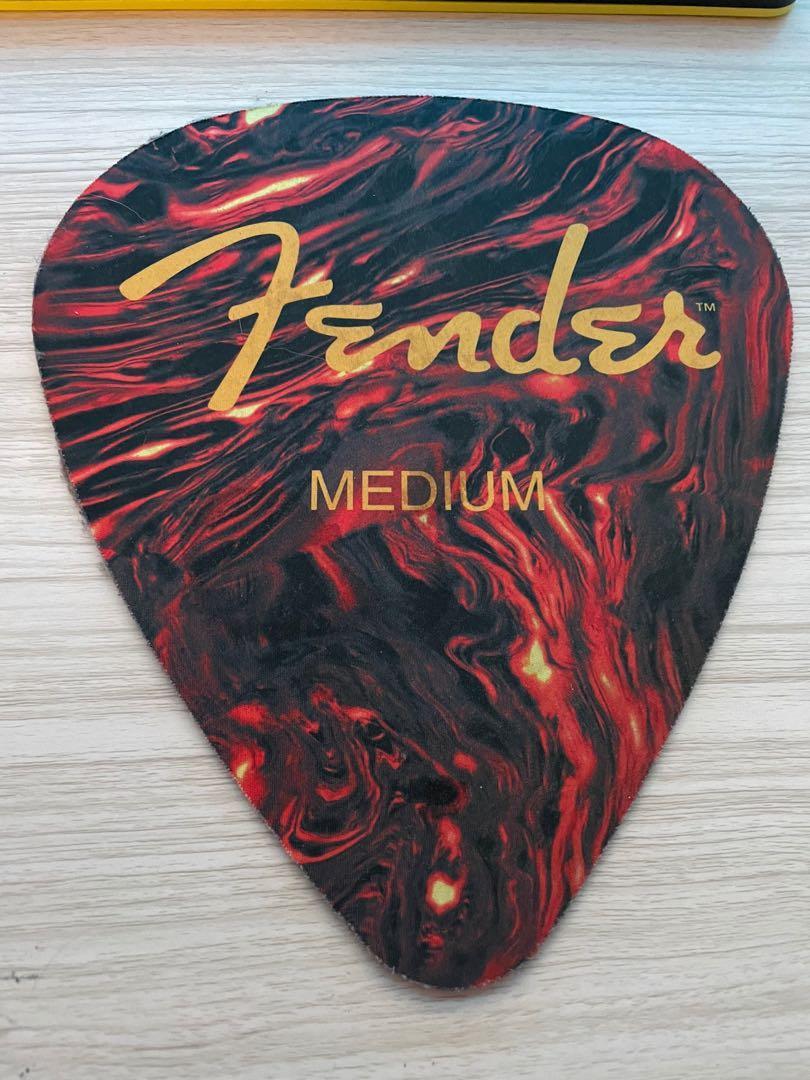 Fender滑鼠墊