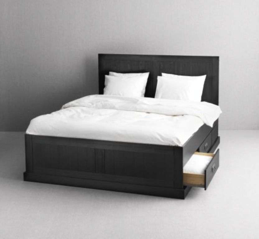 Ikea Fjell Bed Queen Size Furniture, Ikea Queen Bed