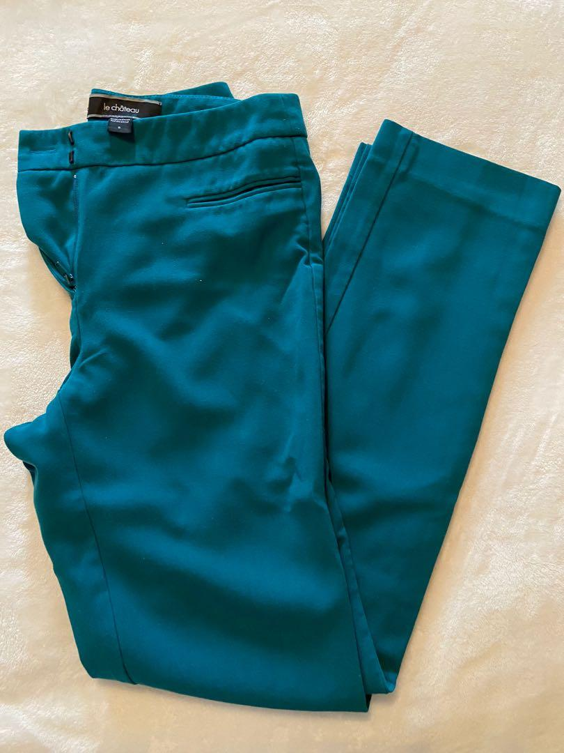 Le Chateau - Green Fitted Pant