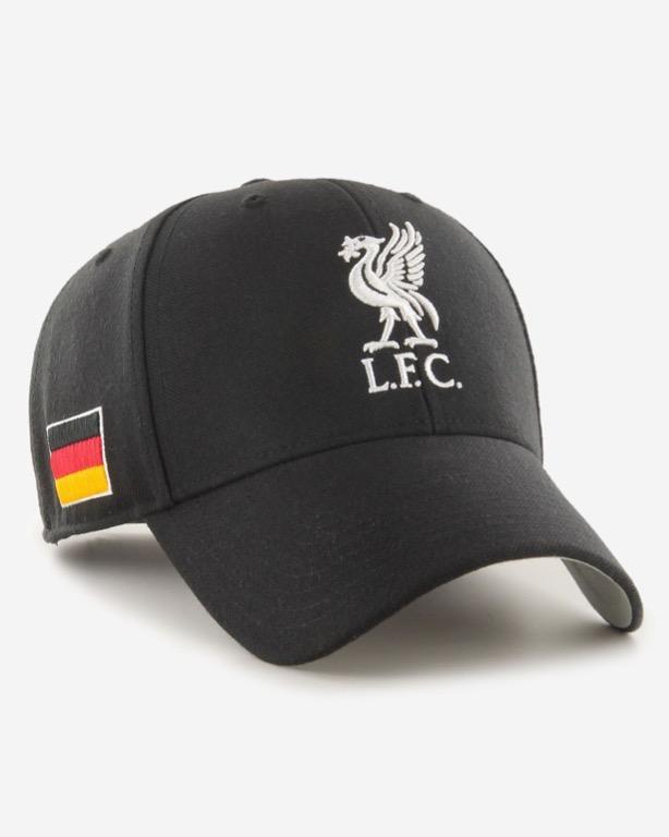 47 Brand NEW Men/'s EPL Liverpool FC Cap Black BNWT