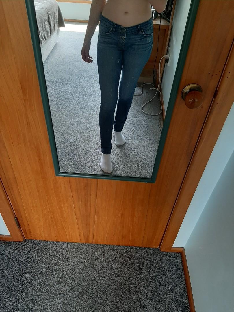 Low Rise Denim Jeans
