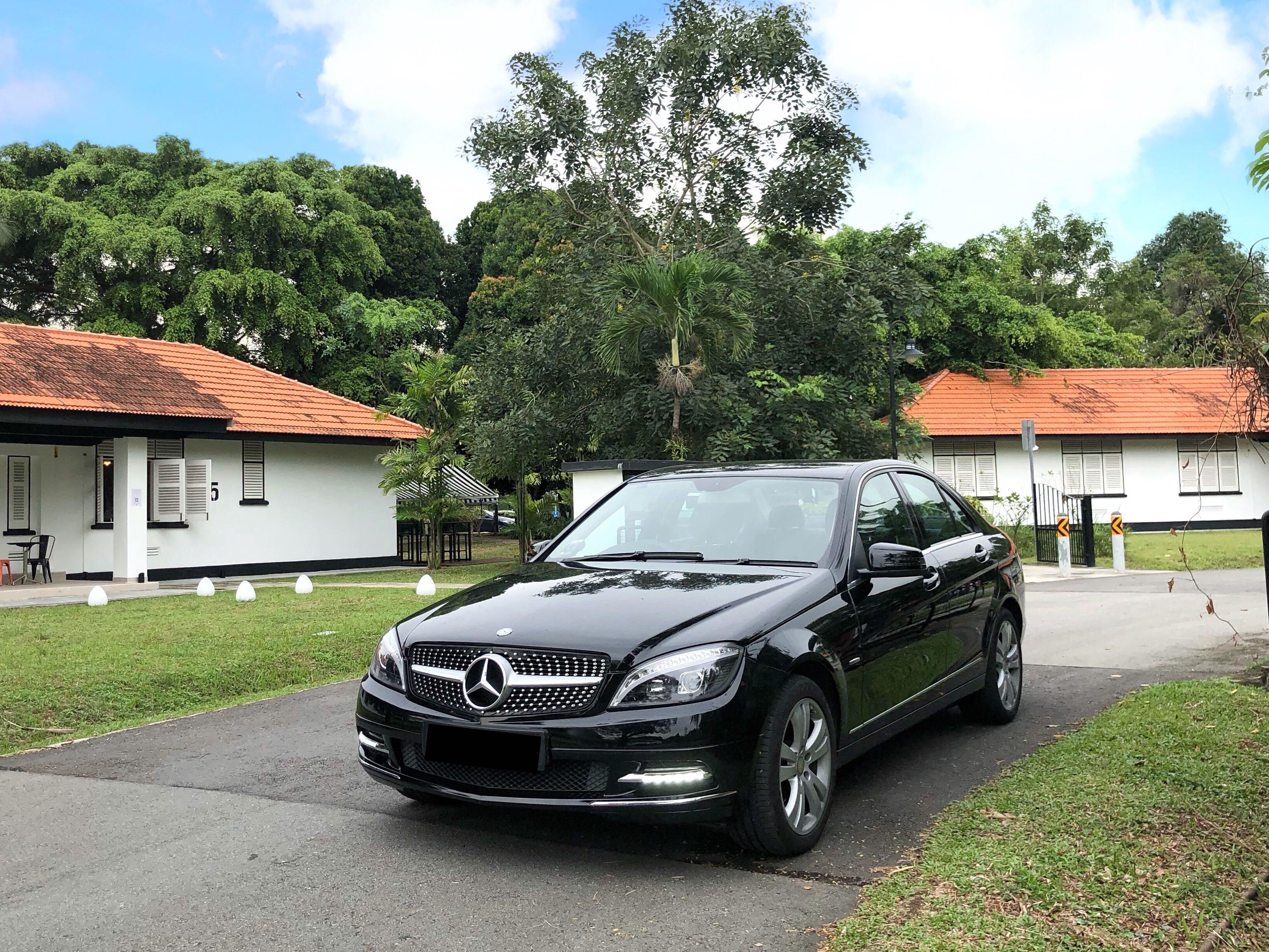 Mercedes C-Class for Weddings, Events and Daily Use