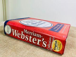 Merriam Webster's Collegiate Dictionary  英文原版 韋氏大學英語詞典字典