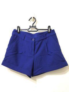 Net 全新寶藍色短褲