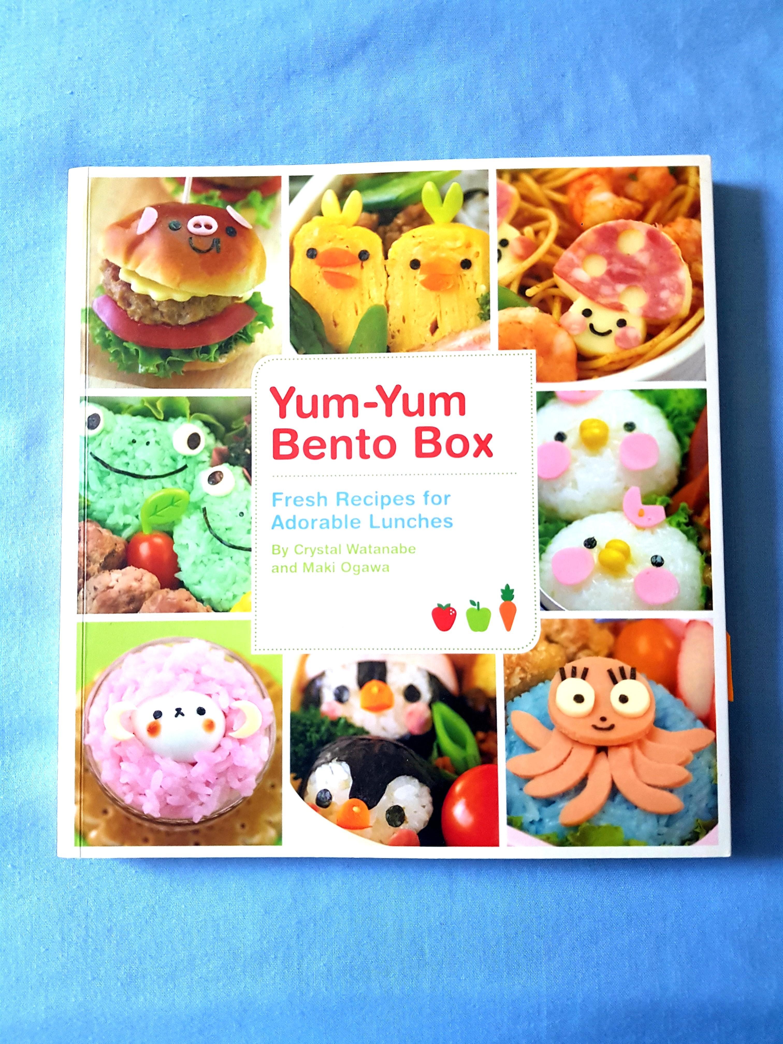 NEW Yum Yum Bento Box Recipe book