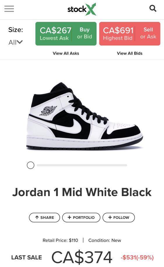 Nike Jordan 1 Mids