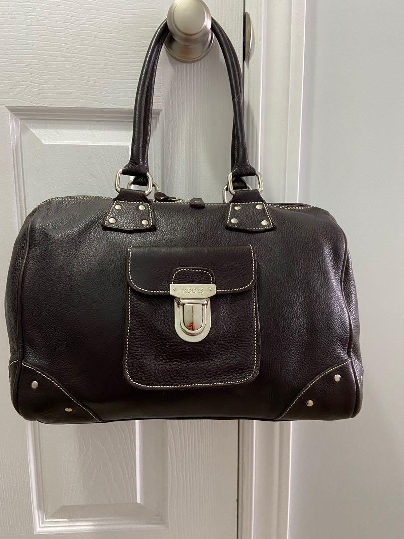 🔥Roots Chocolate Brown - Leather Bag