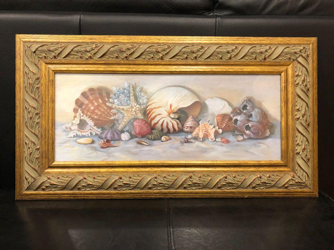 Shell Framed Art