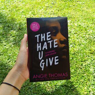 The Hate U Give by Angie Thomas buku preloved original