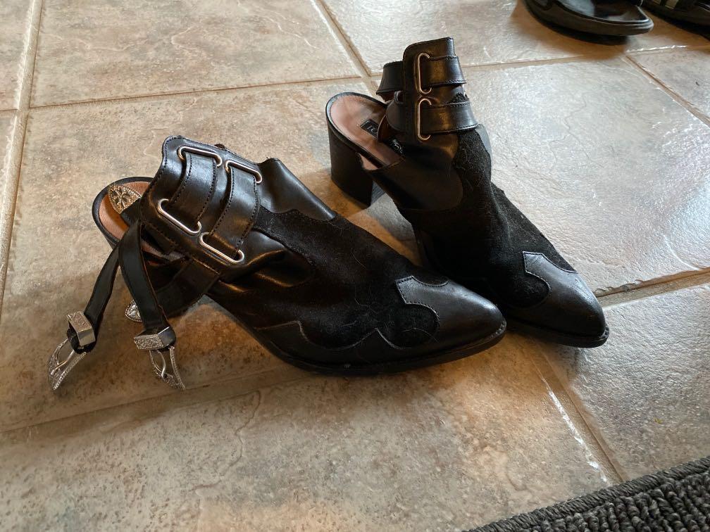 Top shop cowboy heel