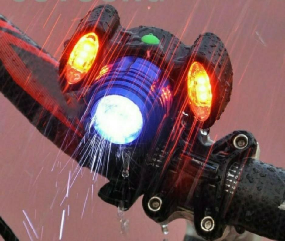 10W LED USB Rechargeable Bycicle Light Headlamp MTB Bike Front Lamp Waterproof