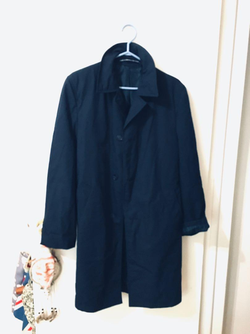 Vintage peacoat trench coat style jacket