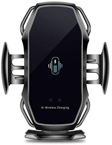 3 in 1 Wireless Charger Fast Charging Auto Clamping Mobile Use A5 Car Charger