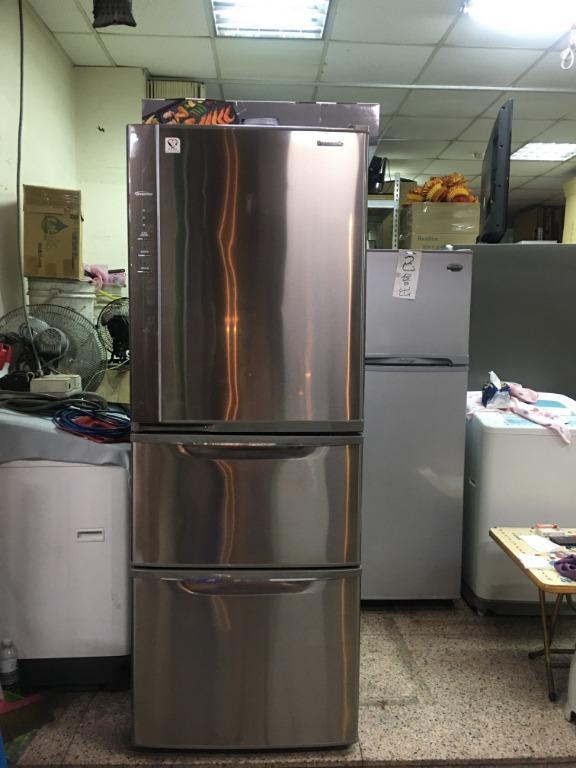 頂尖電器行「二手」國際 468公升 三門變頻冰箱