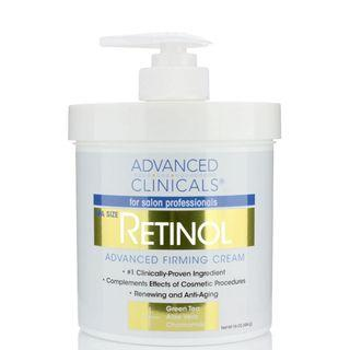 [🇺🇸美國直送] Advanced Clinicals Retinol Advanced Firming Cream 視黃醇緊膚霜 (454ml)