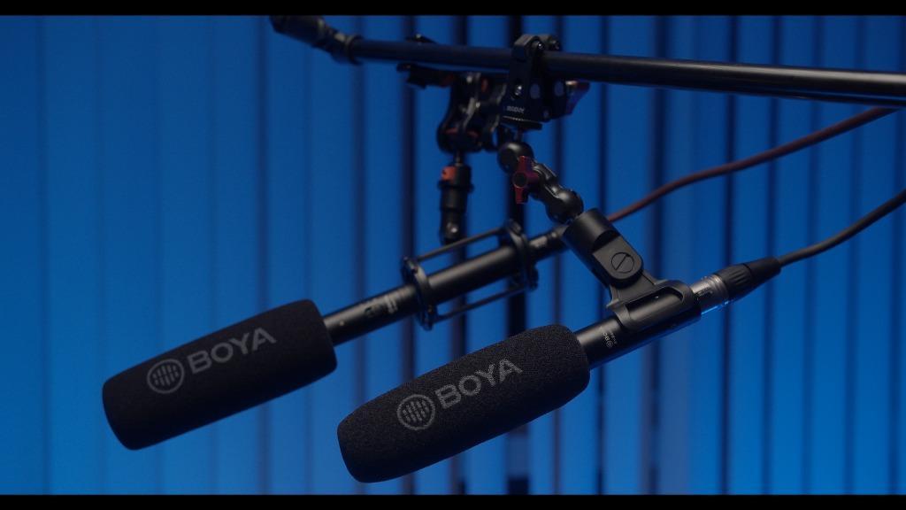 BOYA BY-BM6060 Professional Shotgun Microphone, Electronics, Audio on Carousell