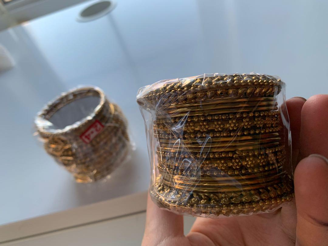 Brand new set of Indian bangles