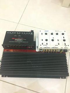 Cadence Amplifier with Equalizer & Crossover