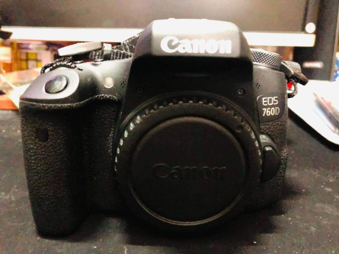 Canon 760D,EFS 18,135mm,cleaning kit and strap