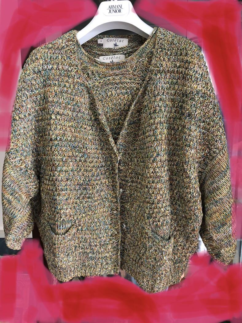 法國Cotelac ~兩件式針織套裝