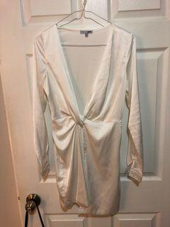 Fashionnova Sugar Free Dress - White