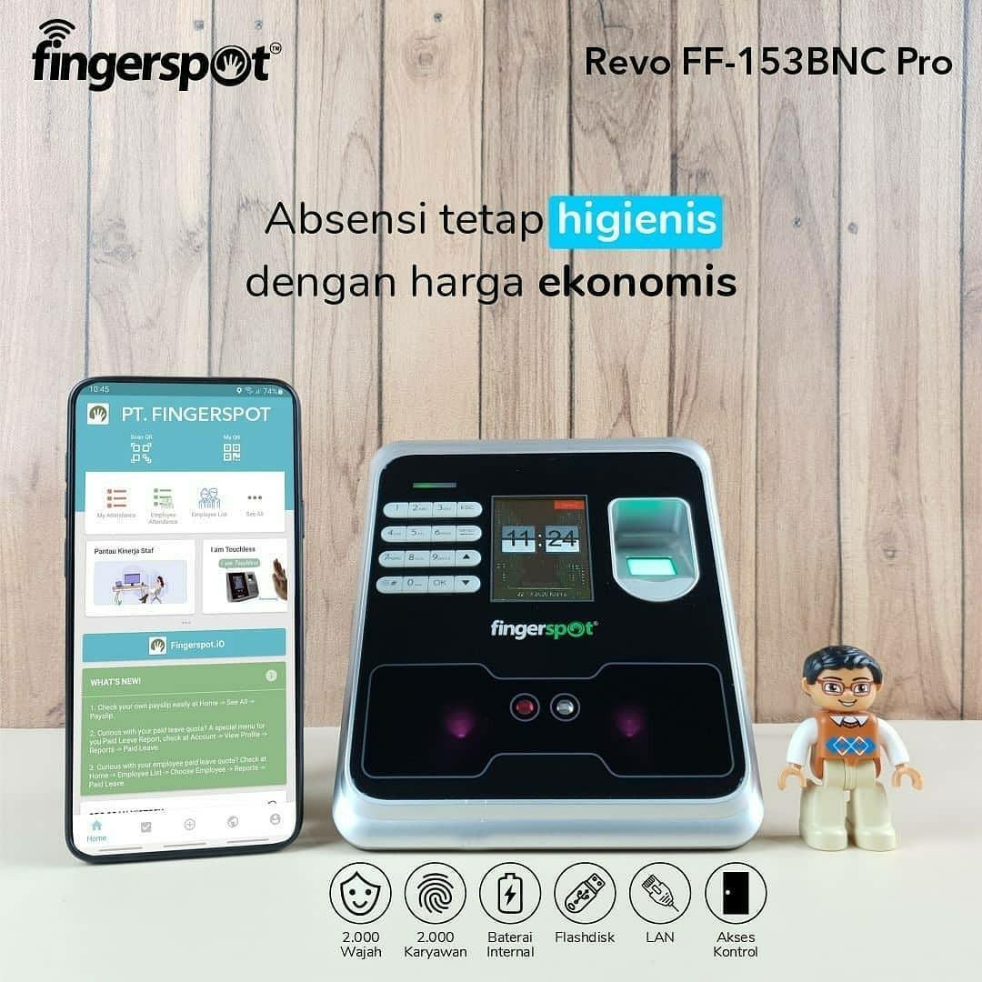 Fingerspot Revo 153 BNC pro