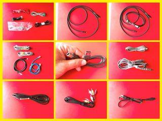 HDMI, Internet cable, Data transfer cable, Phone cable
