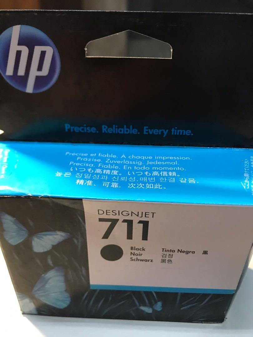HP 711 黑色 DESIGNJET 墨水原廠公司貨 價格以一盒計