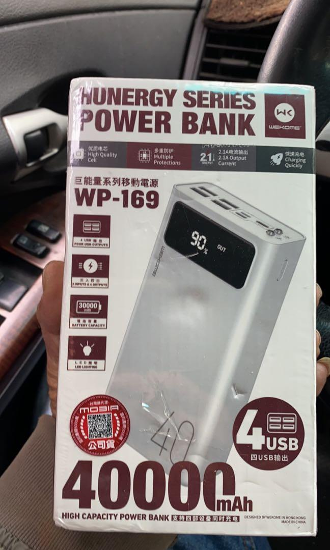 Hunergy powerbank 40,000Mah