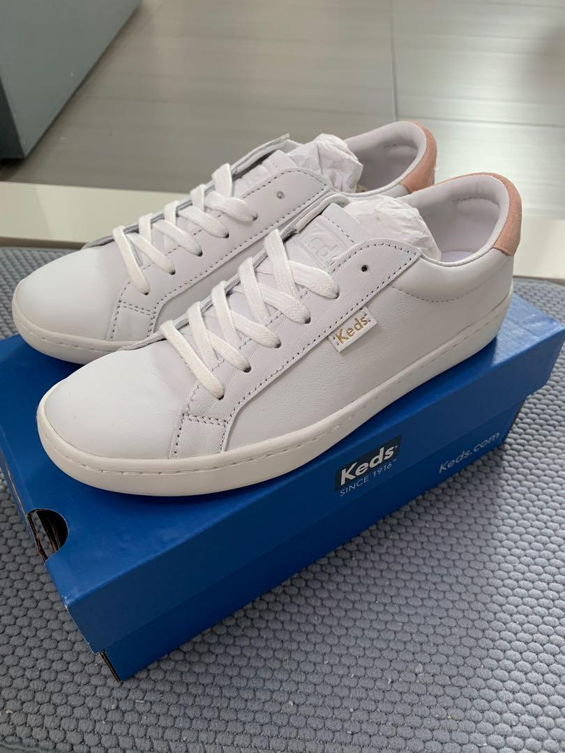 Keds Ace Leather Women's Sneaker (White