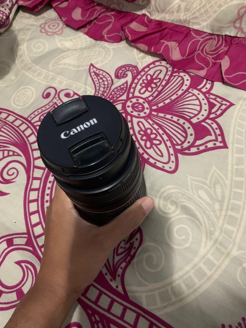 Lensa tele for canon 75-300mm ultrasonic
