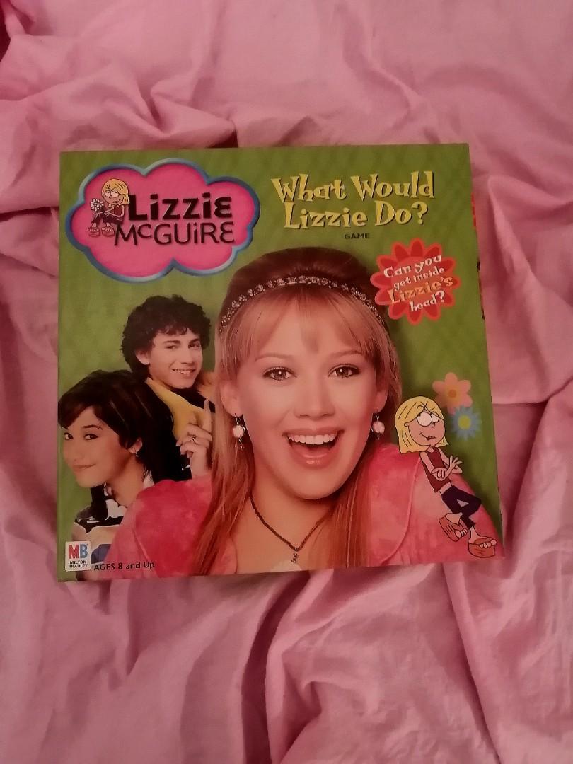 Lizzie McGuire Board Game