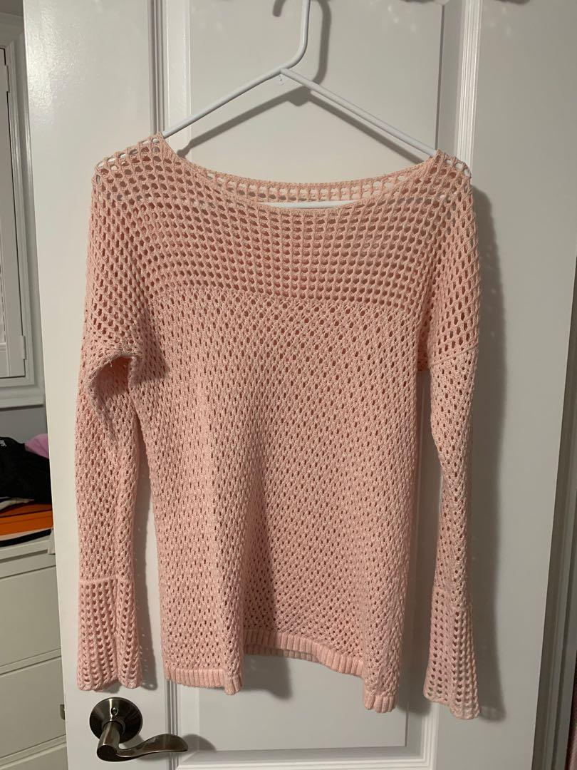 Mendocino pink sweater size small