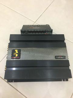 Mohawk Amplifier with Equalizer