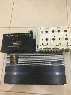 Mohawk Amplifier with Equalizer & Crossover
