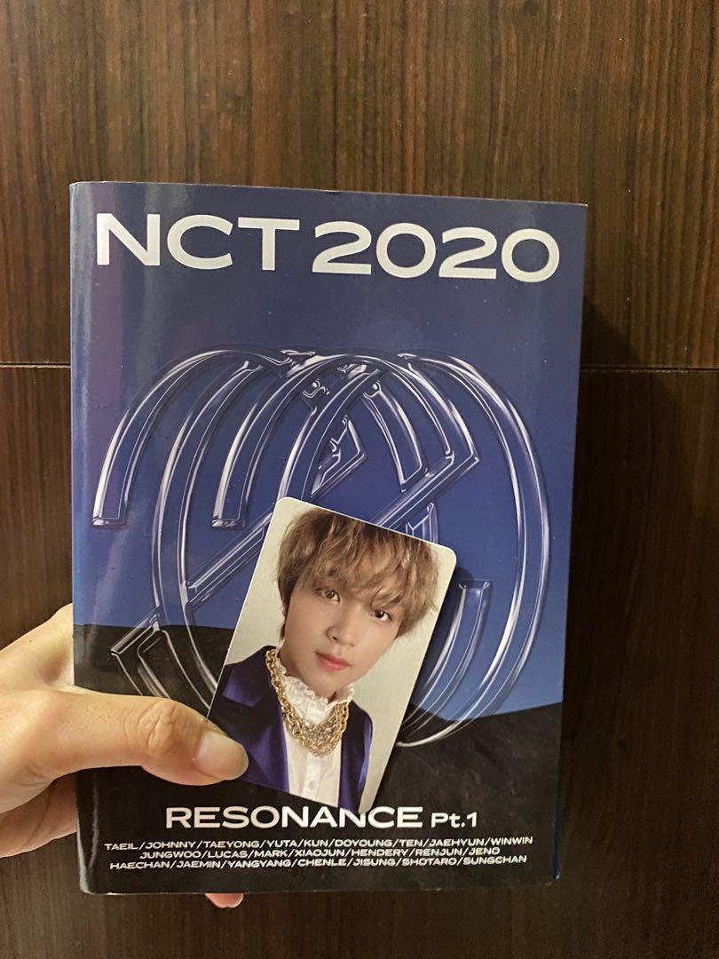 #楷燦全專NCT2020 正規專輯「NCT 2020 : RESONANCE Pt. 1」(韓國進口The Past版)
