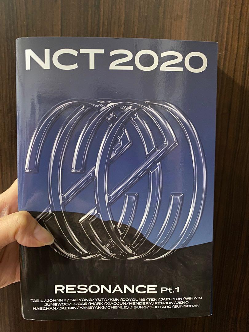 正規專輯「NCT #空專2020 : RESONANCE Pt. 1」(韓國進口The Past版)