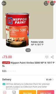 Nippon paint - pebble walk NP 1817P