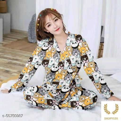 Pakaian Tidur Pp kimono panda oren-Multicolor ( COD )