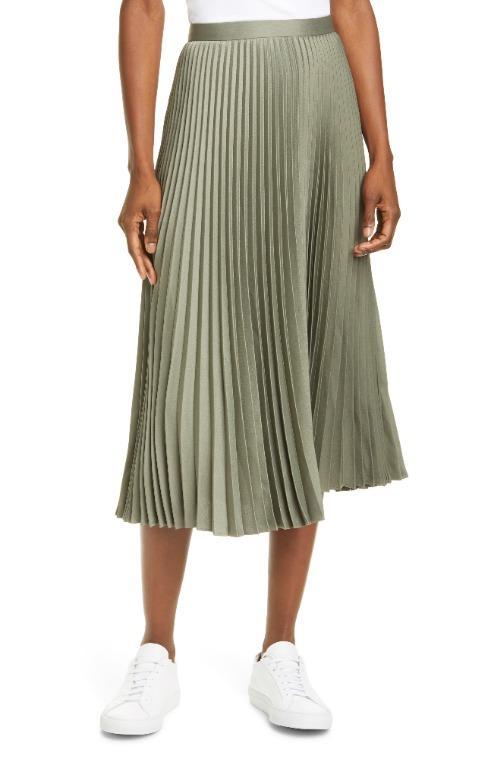 Pleated Midi Skirt (00/XS)