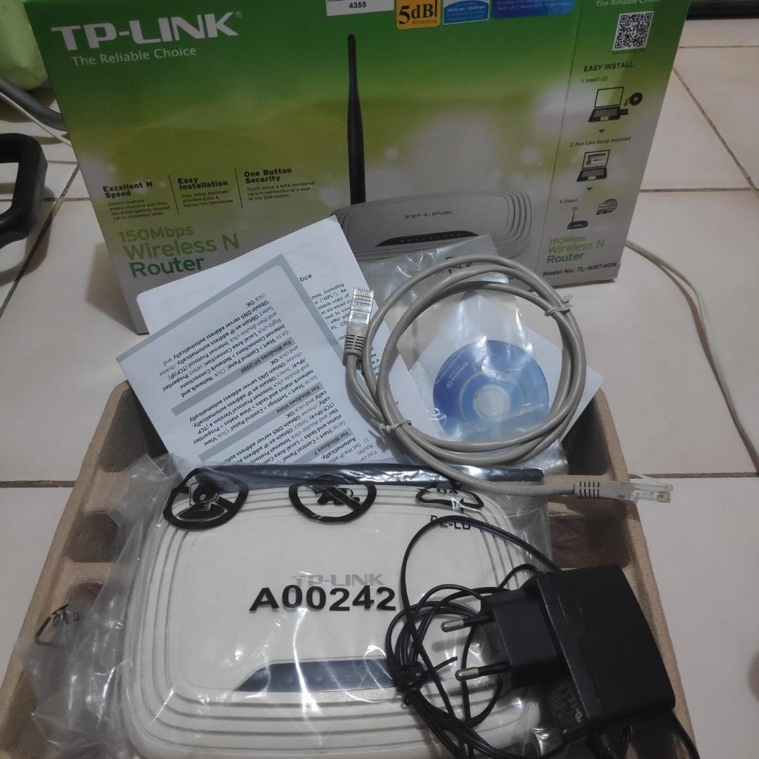 Router TP LINK TL-WR740N