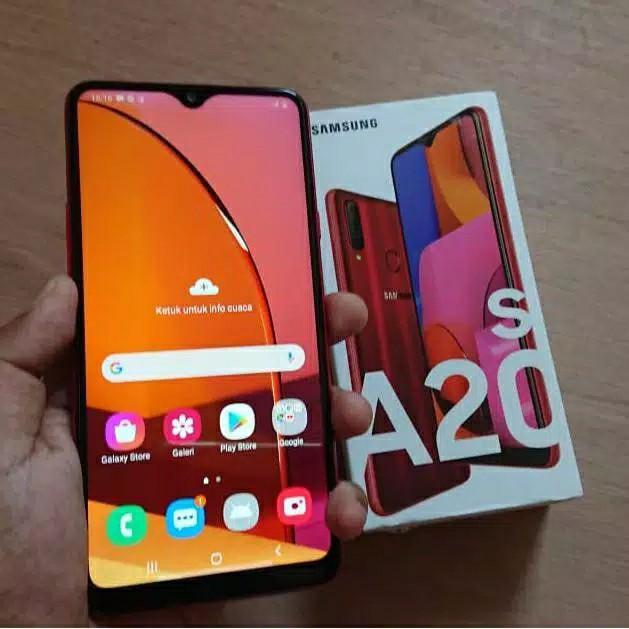 Samsung A20s Red